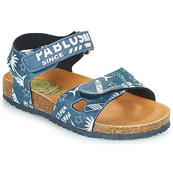 kengät Pojat Sandaalit ja avokkaat Pablosky FOUNIR Sininen