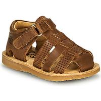 kengät Pojat Sandaalit ja avokkaat Citrouille et Compagnie MISTIGRI Kamelinruskea