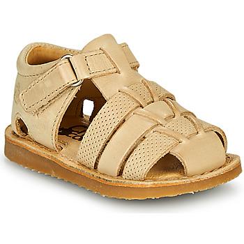 kengät Pojat Sandaalit ja avokkaat Citrouille et Compagnie MISTIGRI Beige