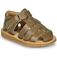 kengät Pojat Sandaalit ja avokkaat Citrouille et Compagnie MISTIGRI Khaki