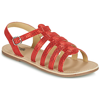kengät Tytöt Sandaalit ja avokkaat Citrouille et Compagnie MAYANA Punainen