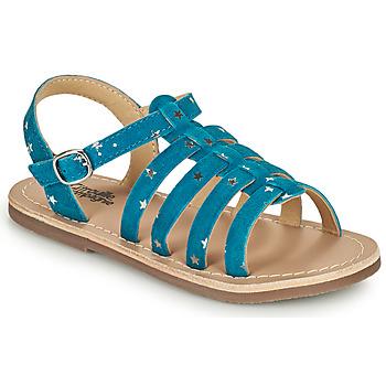 kengät Tytöt Sandaalit ja avokkaat Citrouille et Compagnie MAYANA Sininen