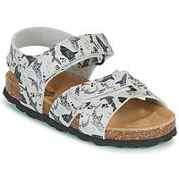 kengät Pojat Sandaalit ja avokkaat Citrouille et Compagnie OMAYO Harmaa