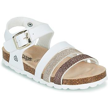 kengät Tytöt Sandaalit ja avokkaat Citrouille et Compagnie OMAYA Valkoinen