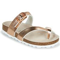 kengät Tytöt Sandaalit Citrouille et Compagnie OMILA Vaaleanpunainen / Kulta