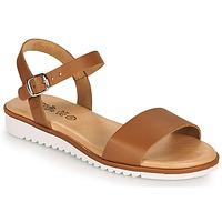 kengät Tytöt Sandaalit ja avokkaat Citrouille et Compagnie GLAPOTTI Camel