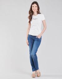 vaatteet Naiset Suorat farkut Pepe jeans GEN Sininen