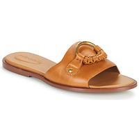 kengät Naiset Sandaalit See by Chloé HANA SB3305 Konjakki