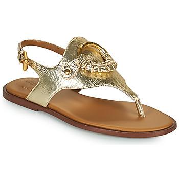 kengät Naiset Sandaalit ja avokkaat See by Chloé HANA SB36131 Kulta