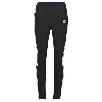 vaatteet Naiset Legginsit adidas Originals 3 STR TIGHT Musta