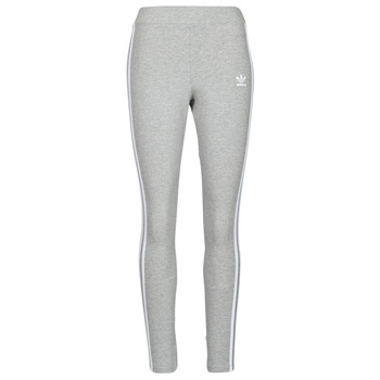 vaatteet Naiset Legginsit adidas Originals 3 STRIPES TIGHT Harmaa