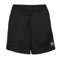 vaatteet Naiset Shortsit / Bermuda-shortsit adidas Originals SATIN SHORTS Musta