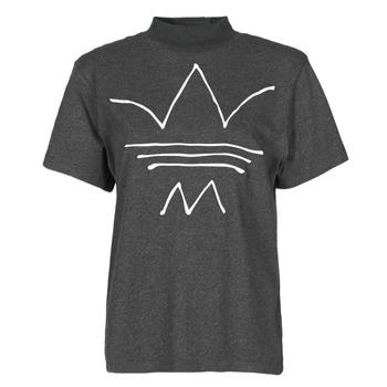 vaatteet Naiset Lyhythihainen t-paita adidas Originals TEE Musta