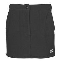 vaatteet Naiset Hame adidas Originals FLEECE SKIRT Musta