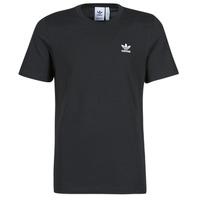 vaatteet Miehet Lyhythihainen t-paita adidas Originals ESSENTIAL TEE Musta