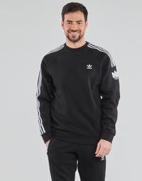 vaatteet Miehet Svetari adidas Originals 3D TF 3 STRP CR Musta