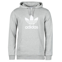 vaatteet Miehet Svetari adidas Originals TREFOIL HOODIE Harmaa