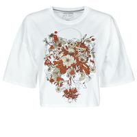 vaatteet Naiset Lyhythihainen t-paita Volcom FA FORTIFEM TEE Valkoinen