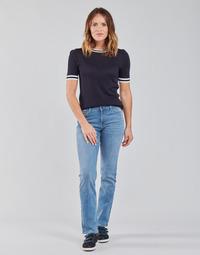 vaatteet Naiset Suorat farkut Lee MARION STRAIGHT Sininen