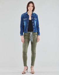 vaatteet Naiset Chino-housut / Porkkanahousut Le Temps des Cerises LIDY Khaki