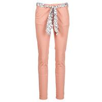 vaatteet Naiset Chino-housut / Porkkanahousut Le Temps des Cerises LIDY Pink