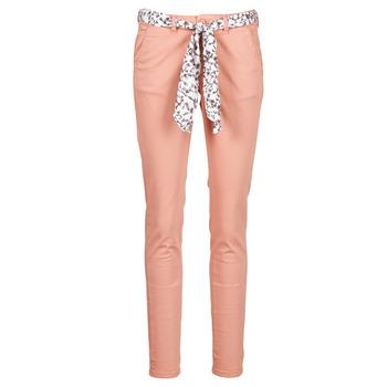 vaatteet Naiset Chino-housut / Porkkanahousut Le Temps des Cerises LIDY Vaaleanpunainen