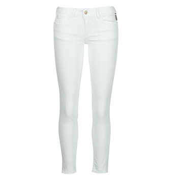 vaatteet Naiset Chino-housut / Porkkanahousut Le Temps des Cerises PULP HILL Valkoinen