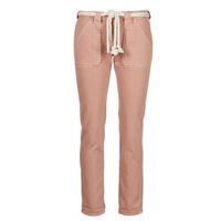 vaatteet Naiset 5-taskuiset housut Le Temps des Cerises EZRA Ruskea