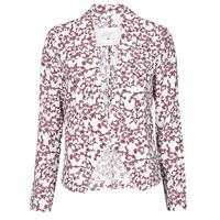 vaatteet Naiset Takit / Bleiserit Le Temps des Cerises GOYA Valkoinen