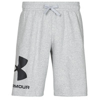 vaatteet Miehet Shortsit / Bermuda-shortsit Under Armour UA RIVAL FLC BIG LOGO SHORTS Harmaa