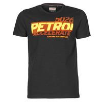 vaatteet Miehet Lyhythihainen t-paita Petrol Industries T-SHIRT SS R-NECK F Musta
