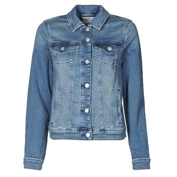 vaatteet Naiset Farkkutakki Esprit JOGGER JACKET Sininen