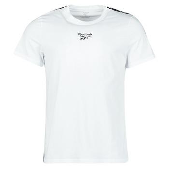 vaatteet Miehet Lyhythihainen t-paita Reebok Classic TE TAPE TEE Valkoinen
