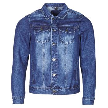 vaatteet Miehet Farkkutakki Yurban OPSI Sininen
