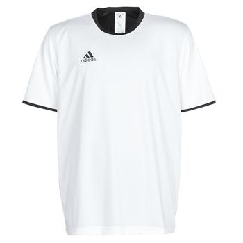vaatteet Miehet Lyhythihainen t-paita adidas Performance TAN REV JSY White