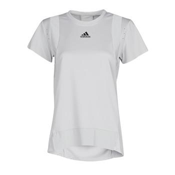 vaatteet Naiset Lyhythihainen t-paita adidas Performance TRNG TEE H.RDY Harmaa