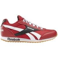 kengät Lapset Matalavartiset tennarit Reebok Sport Royal CL Jogger Valkoiset, Punainen