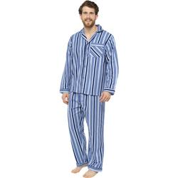 vaatteet Miehet pyjamat / yöpaidat Tom Franks  Blue