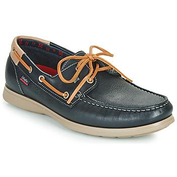 kengät Miehet Mokkasiinit CallagHan EAU Blue