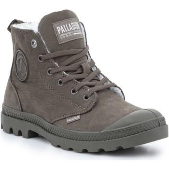 kengät Naiset Bootsit Palladium Manufacture Pampa HI Zip WL 95982-213-M brown