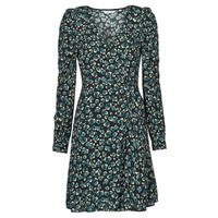 vaatteet Naiset Lyhyt mekko Naf Naf LEO R1 Beige / marine / Musta / Green