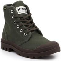 kengät Bootsit Palladium Pampa HI Originale 75349-326-M olive green