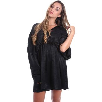 vaatteet Naiset Lyhyt mekko Fracomina FR20SMBARBARA Musta