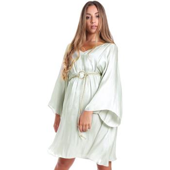 vaatteet Naiset Lyhyt mekko Fracomina FR20SMELISABETH Vihreä
