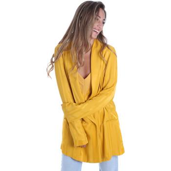 vaatteet Naiset Takit / Bleiserit Fracomina FR20SM648 Keltainen