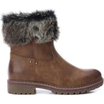 kengät Naiset Nilkkurit Xti 64668 CAMEL Marrón claro