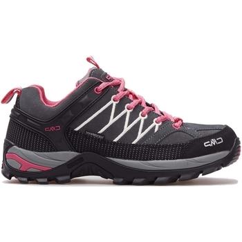kengät Naiset Juoksukengät / Trail-kengät Cmp Rigel Wmn WP Harmaat, Vaaleanpunaiset, Grafiitin väriset