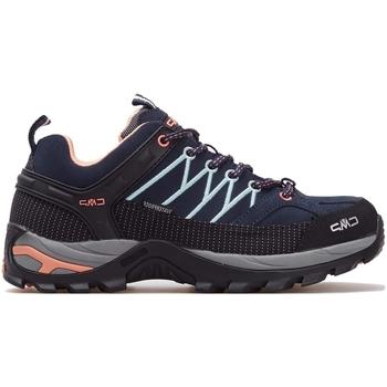 kengät Naiset Juoksukengät / Trail-kengät Cmp Rigel Wmn WP Mustat, Harmaat, Tummansininen