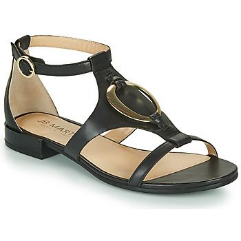 kengät Naiset Sandaalit ja avokkaat JB Martin BOCCIA Musta
