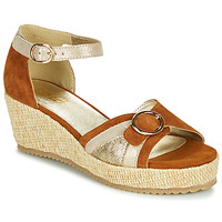 kengät Naiset Sandaalit ja avokkaat Sweet ESTERS Kulta / Kamelinruskea